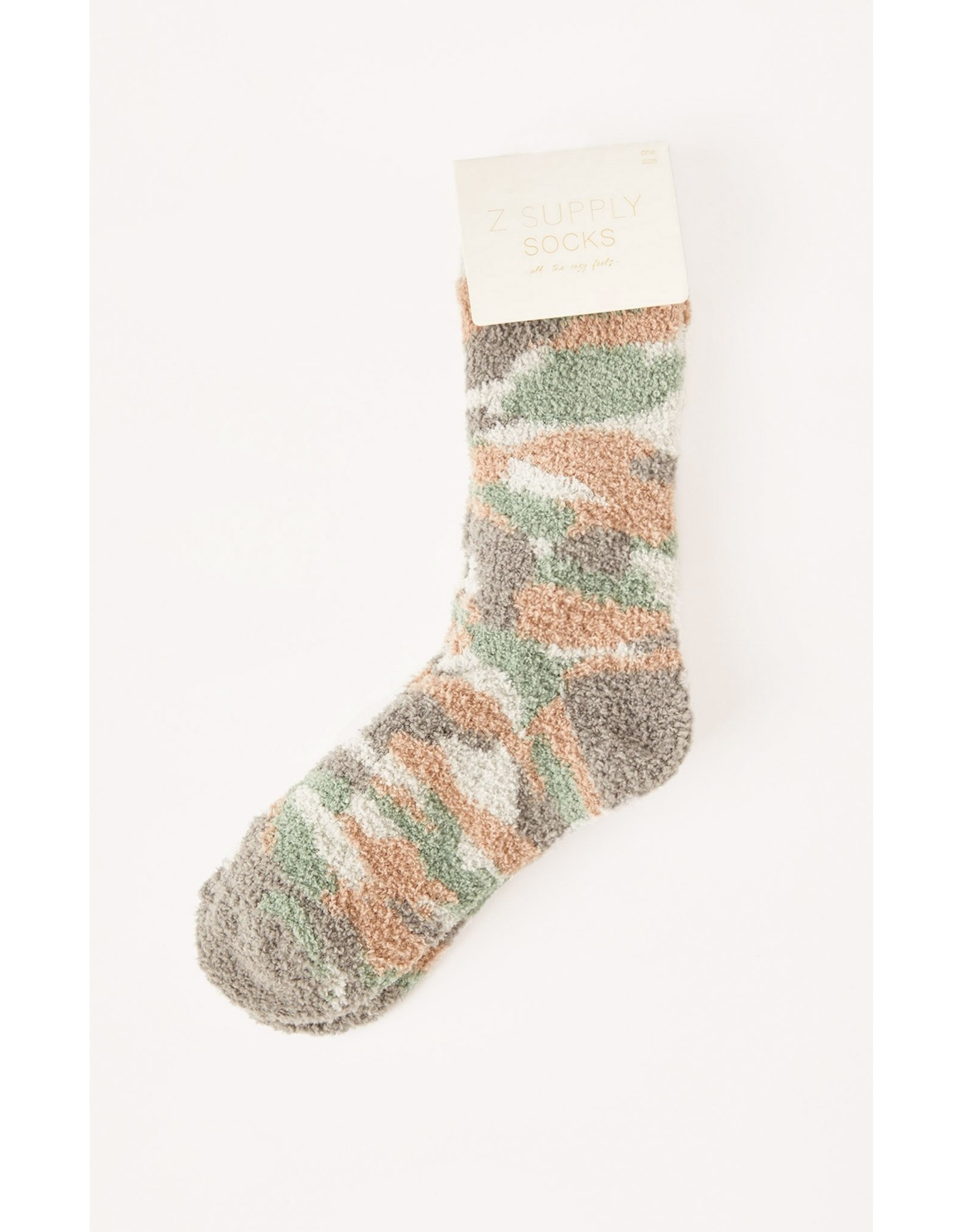 Z Supply - Camo Plush Socks