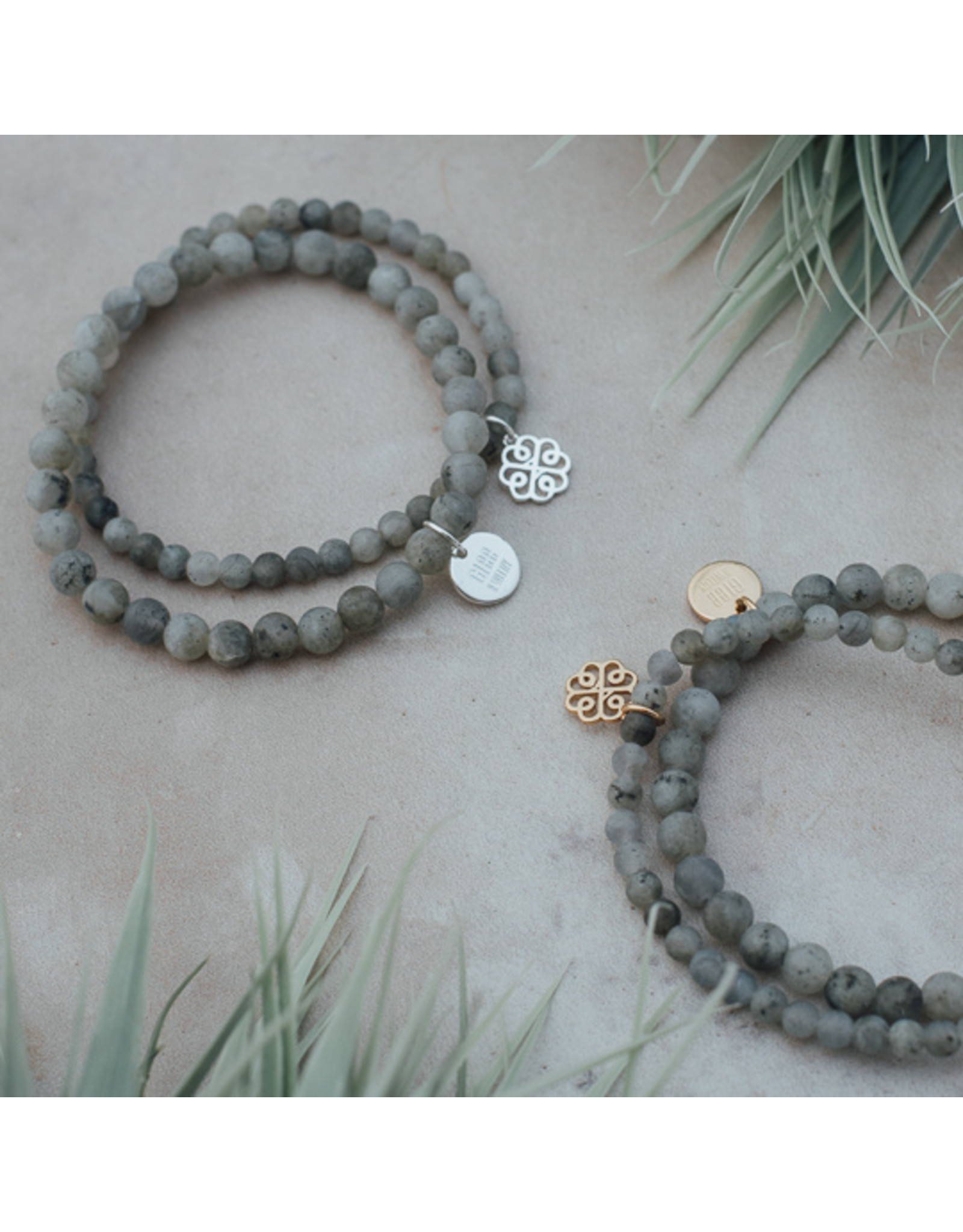Glee - Stackem Up Bracelets - Labradorite