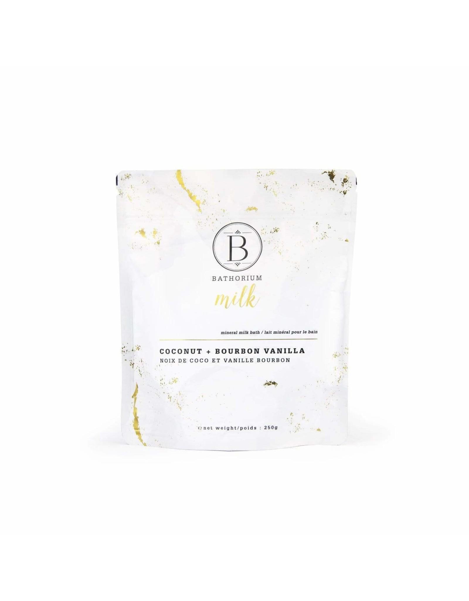 Bathorium - MILK Coconut + Vanilla Mineral Bath Soak