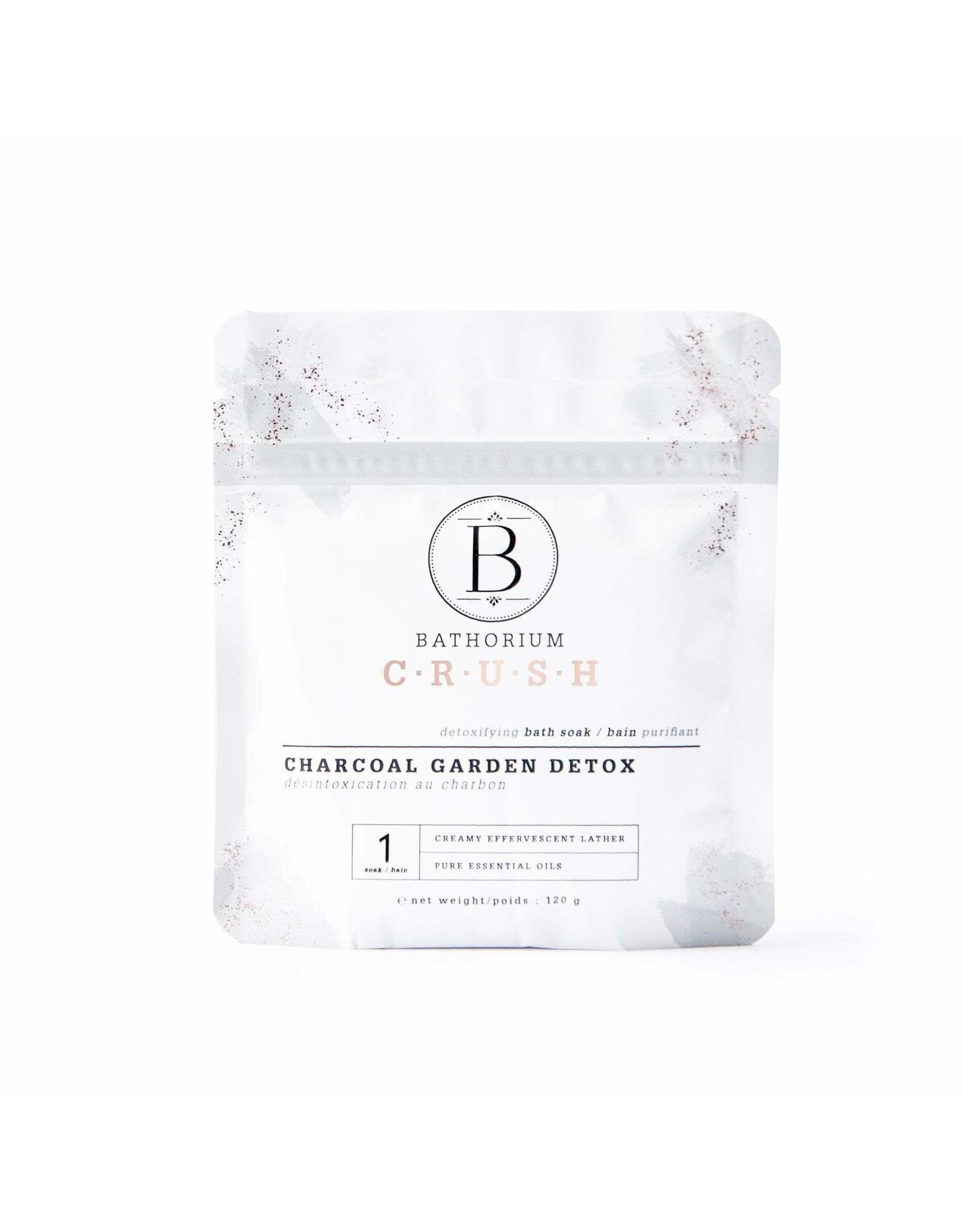 Bathorium - Charcoal Garden Detox Crush