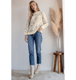RD Style - Leopard Knit
