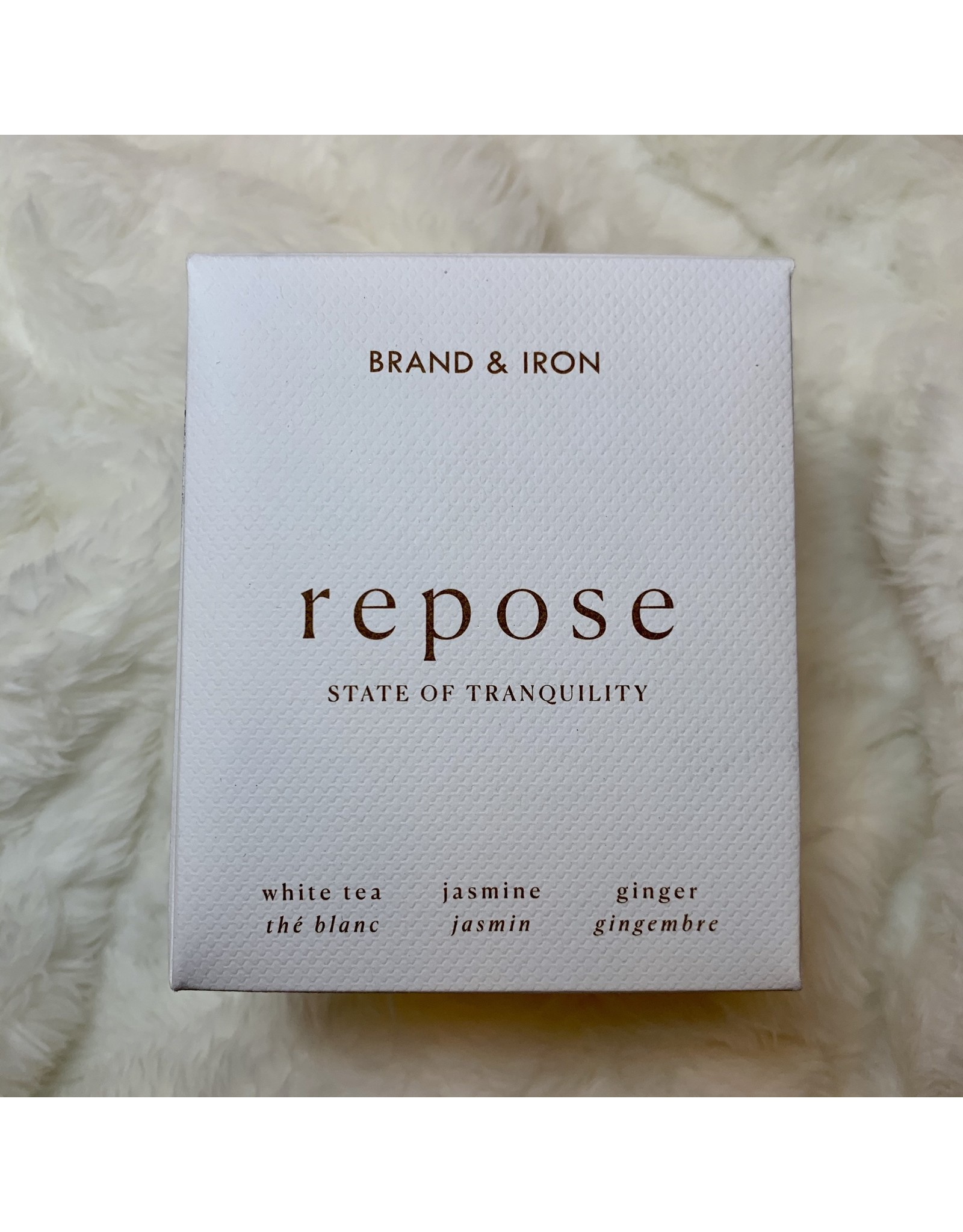 Brand & Iron -Repose Candle 9oz