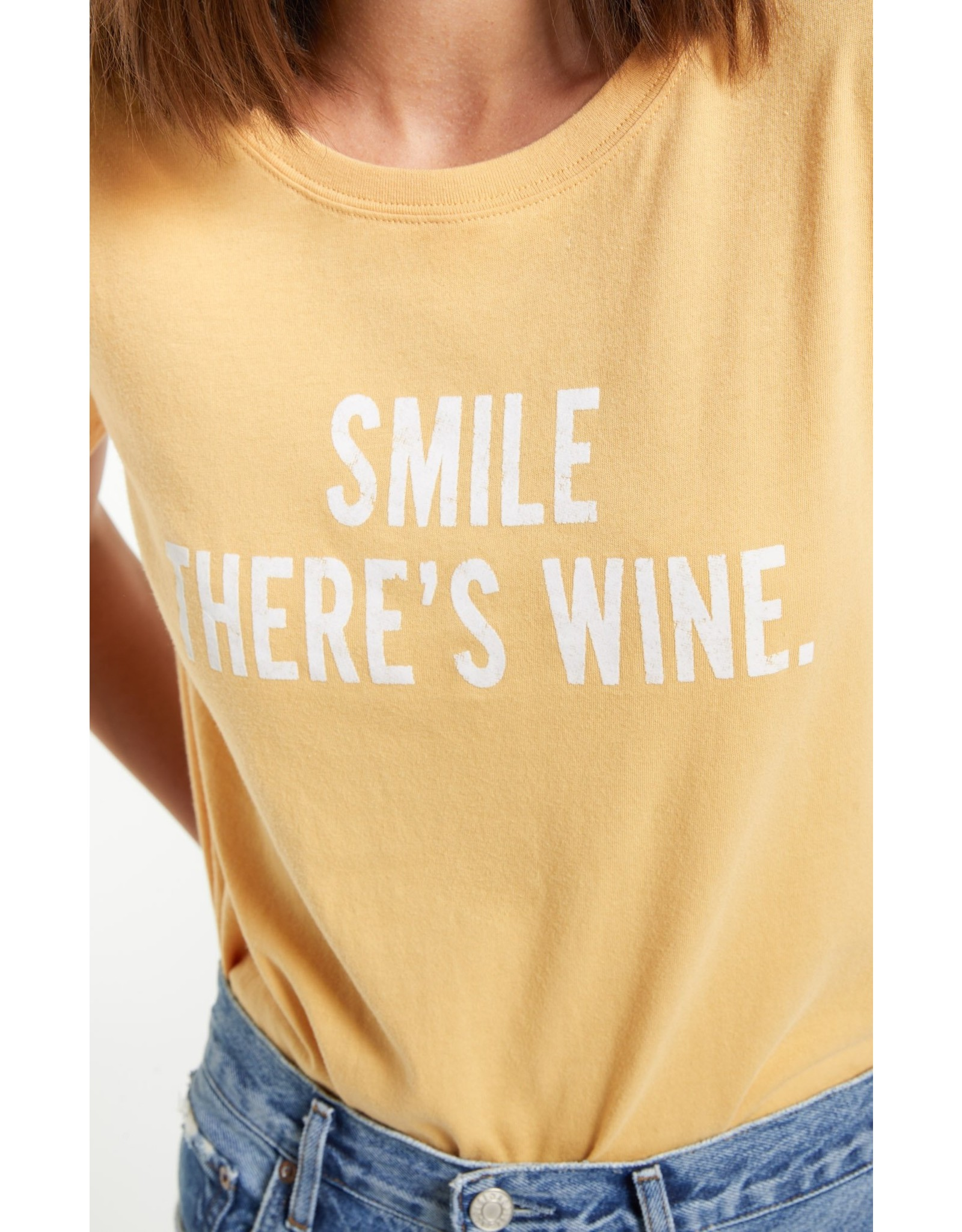 Z Supply - Smile There's Wine Tee