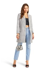 BB Dakota - Plaid To Do It Blazer Coat