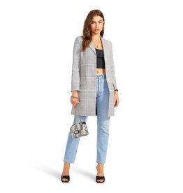 BB Dakota - Plaid To Do It Blazer Coat