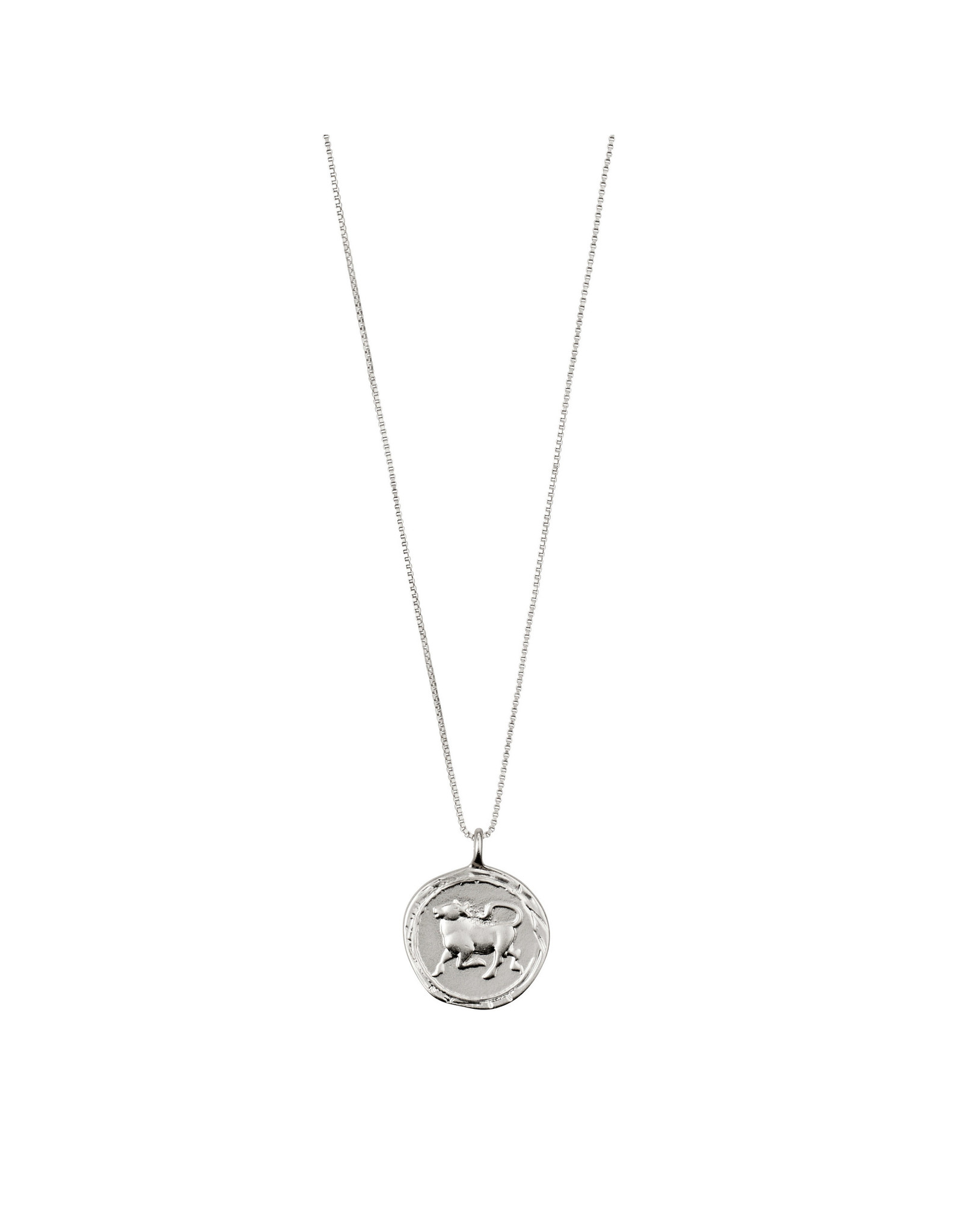 Pilgrim - Horoscope Double Sided Necklace (Silver Collection)