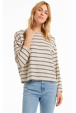 Z Supply - Carly Stripe Hacci Top