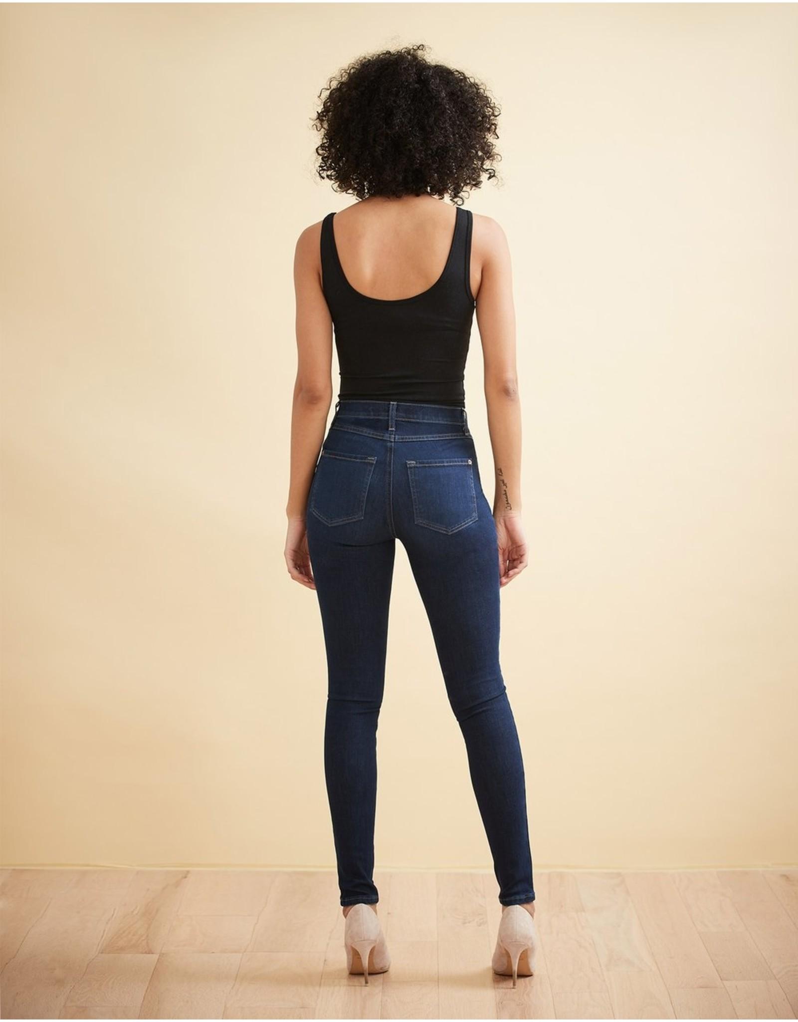 Yoga Jeans - Rachel High Rise Skinny - Dark Indie