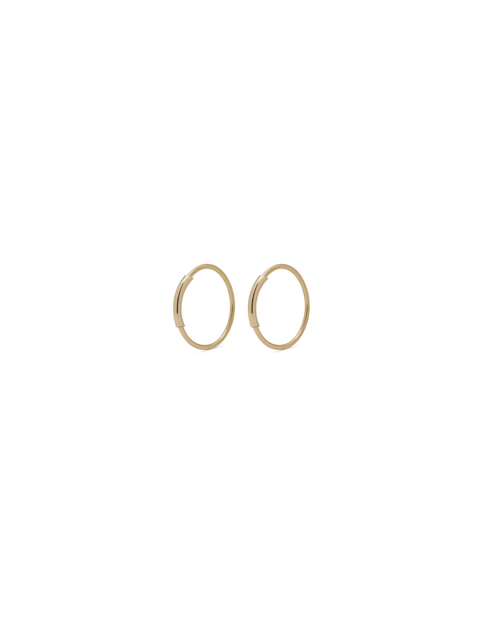 Pilgrim - Raquel Mini Hoops 10 mm