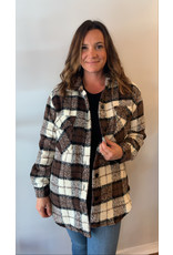 RD Style - Jasper Short Plaid Jacket