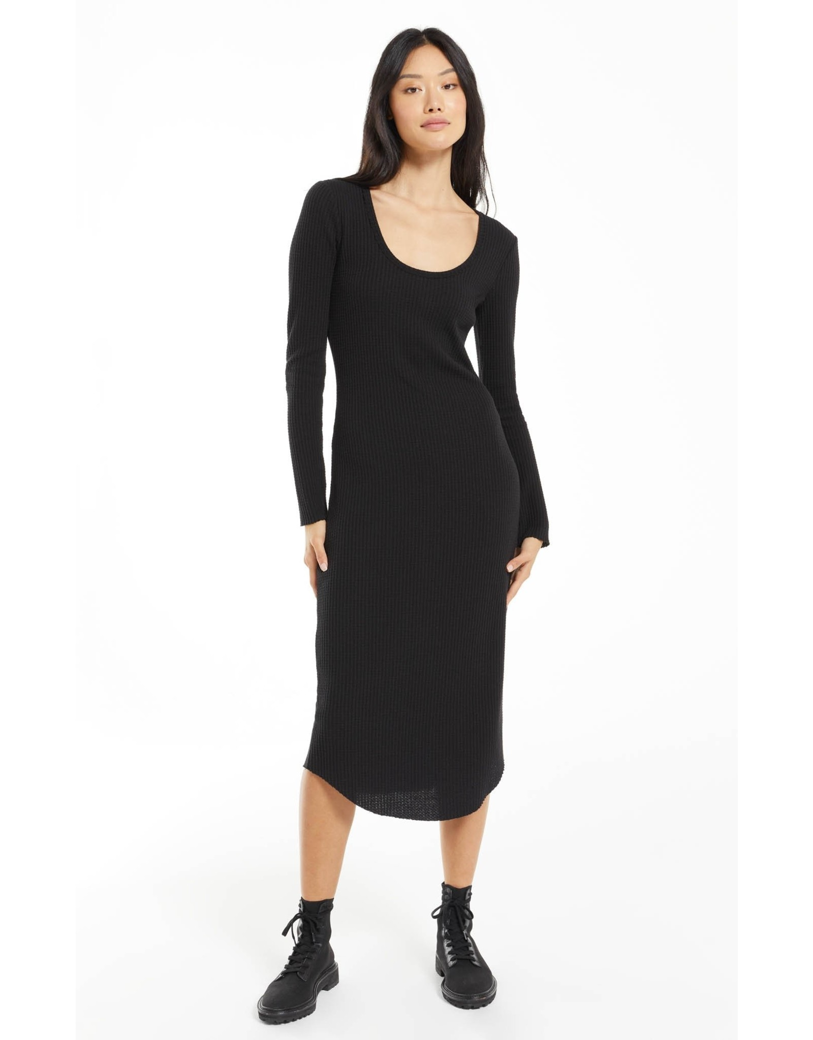 Z Supply - Zoey Waffle Midi Dress