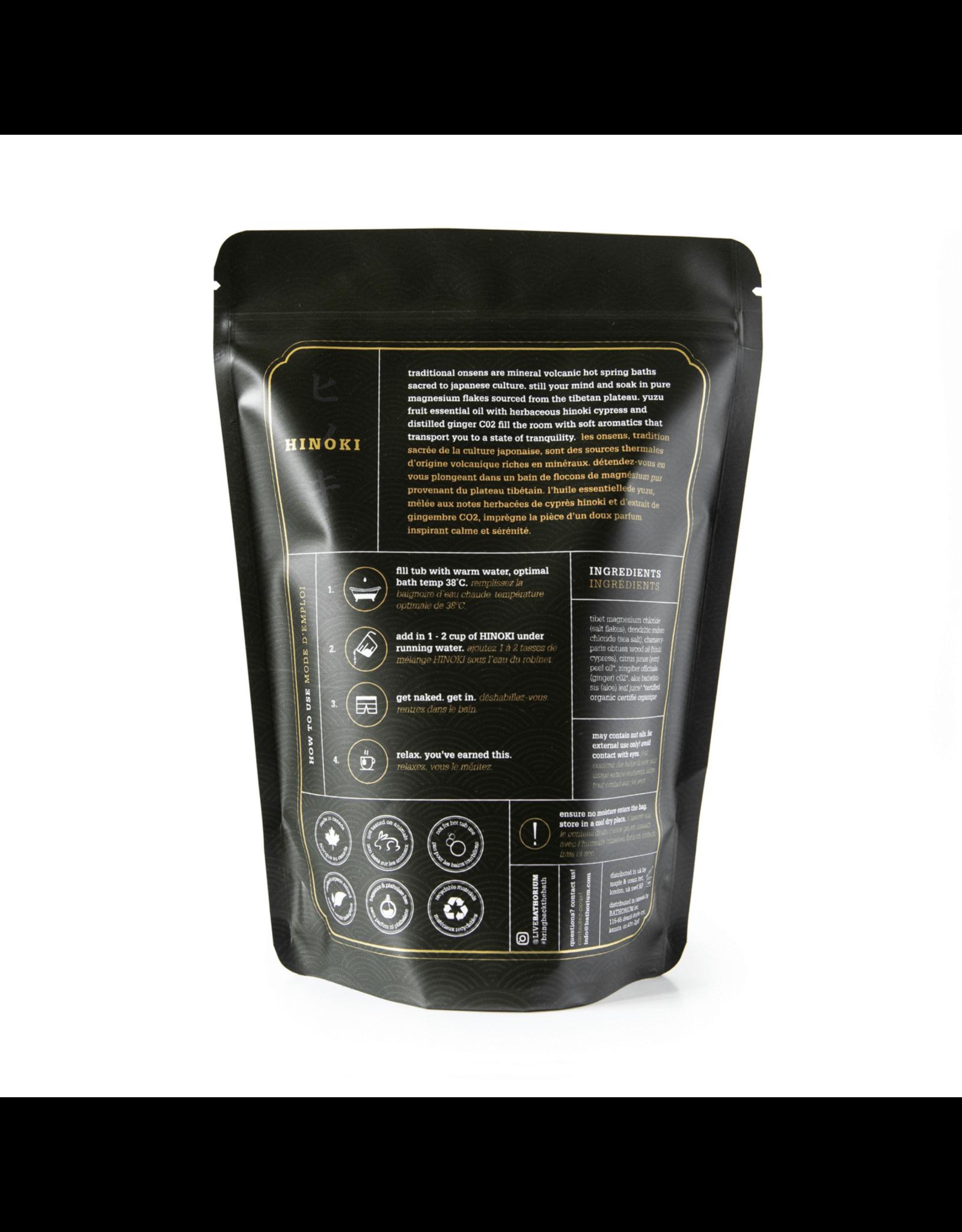 Bathorium - Hinoki Magnesium Bath Flake Soak