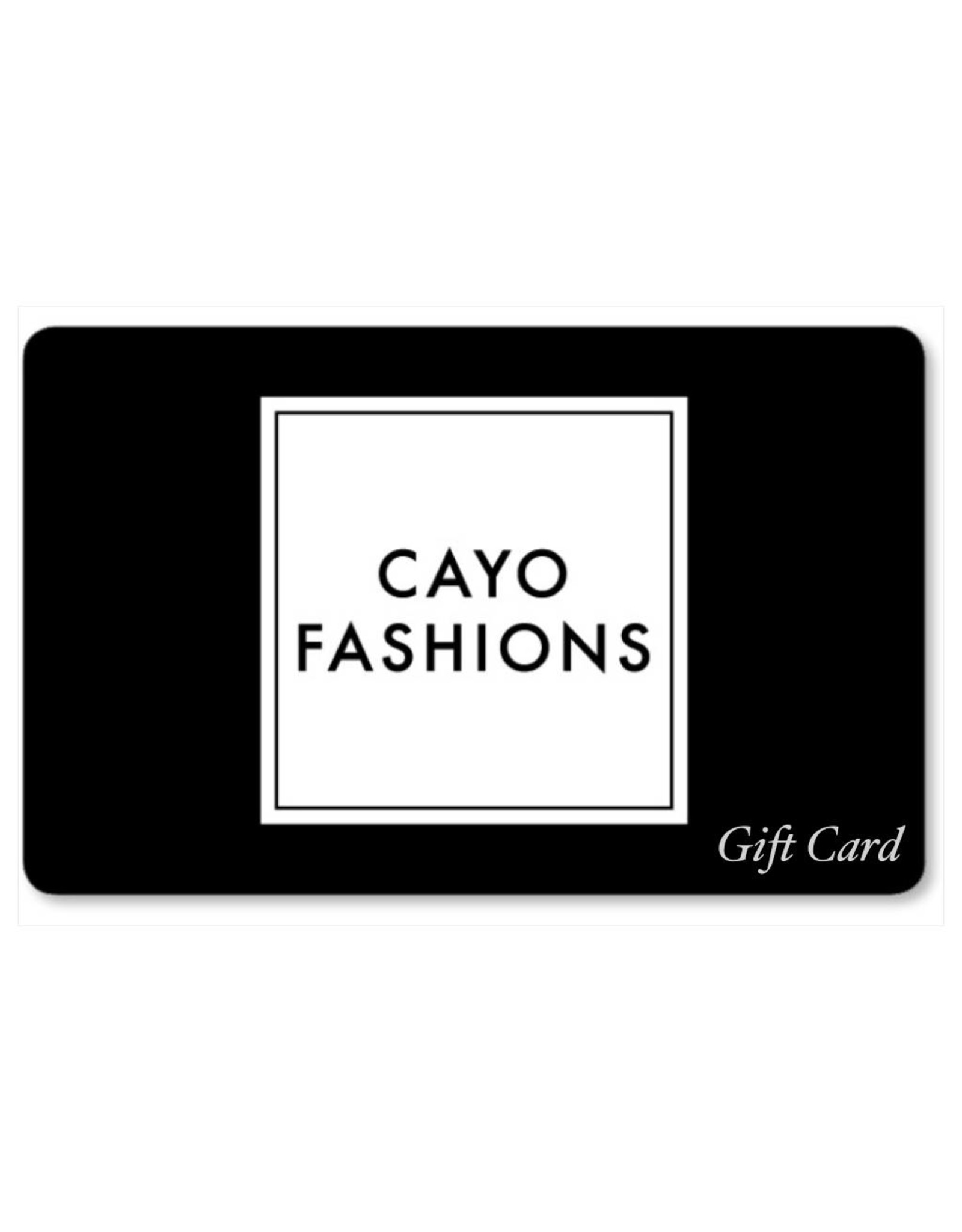 Gift Card from $25
