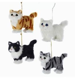 Plush Cat Ornament