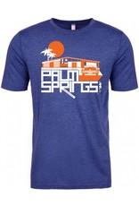 Glam Ranch Heather Blue Men's T-Shirt