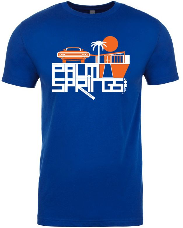 Mod Car Royal Blue Men's T-Shirt
