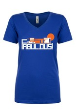 Fabulous Royal Blue Women's T-Shirt