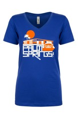 Glam Ranch Royal Blue Women's T-Shirt