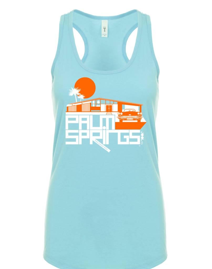 Glam Ranch Cancun Blue Women's Tank Top