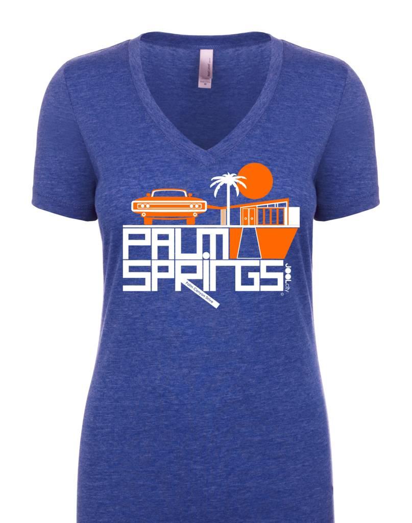 Mod Car Royal Blue Women's T-Shirt