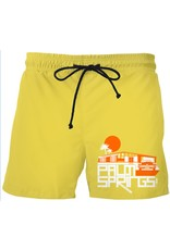 Glam Ranch Men's Mustard Yellow Swim Trunks