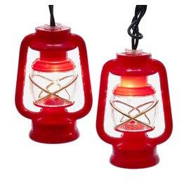Clear/Red Lantern Light