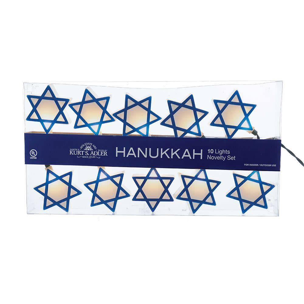 Hanukkah Star Of David Lights