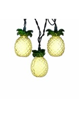 Glass-Look Pineapple Light Set