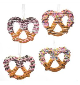 Twisted Pretzel Ornament Assorted