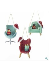 Mid Century Santa Chair Ornament