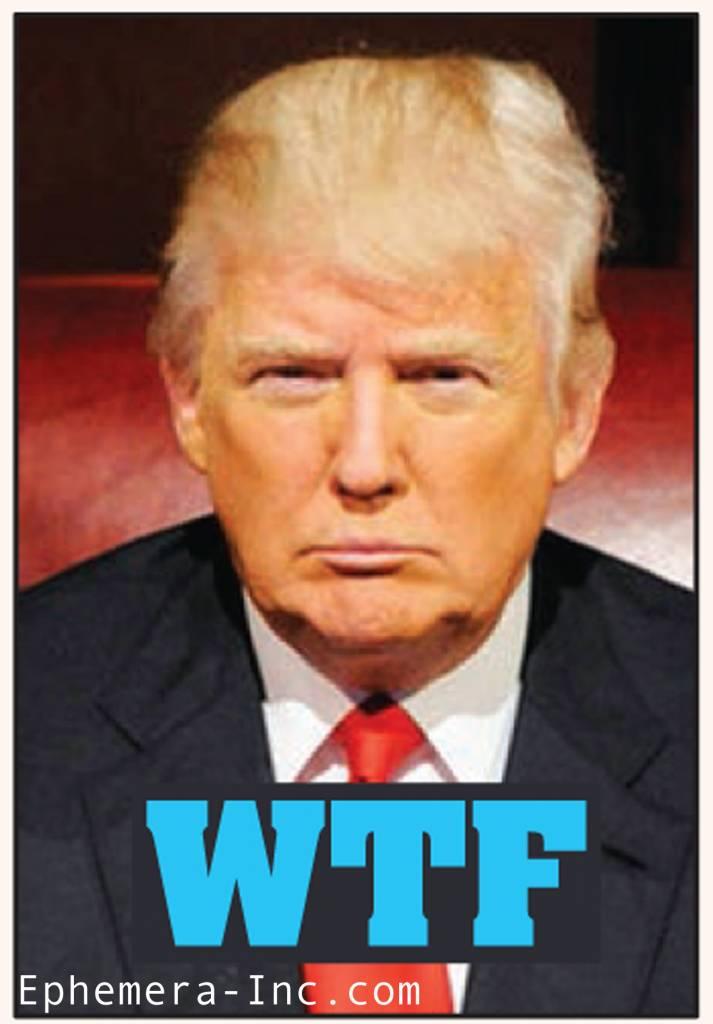 WTF Trump Magnet
