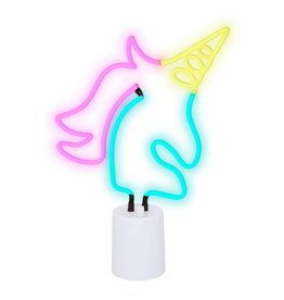 Unicorn Neon Light Desk Large