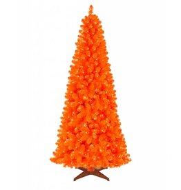 Carrot Orange Slim Xmas Tree 4'