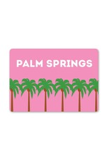 Palm Springs Pink Palm Trees