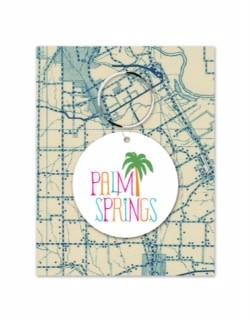 Palm Springs Palm Tree White/Color