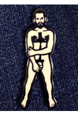 Trevor Wayne Nude Dude Pin