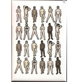 Male Nudes Magnet