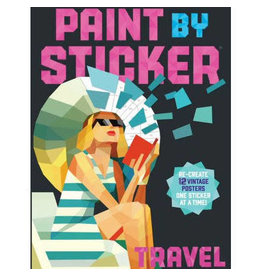 Paint By Stickers: Travel