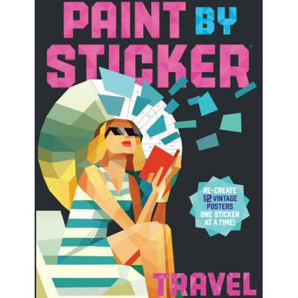 Paint By Stickers-Travel