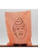 Donald Trump Dog Poop Bags Orange