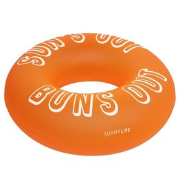 Pool Ring Neon Orange