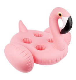 Inflatable Drink Holder Flamingo- Family