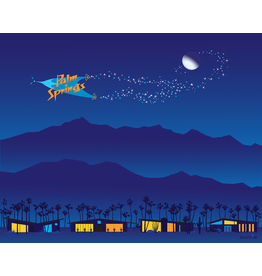Goodnight Palm Springs Matte 11x14