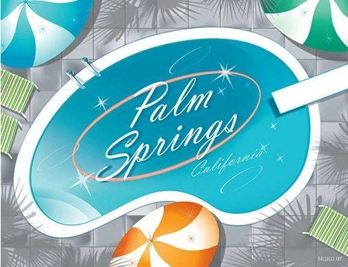 Palm Springs Pool Matte 11x14