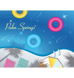 Swimming Pool Floats Matte 11x14
