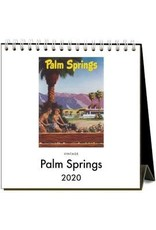 Found Image Press Palm Springs Desk Calendar 2020