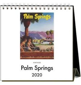 Found Image Press Palm Springs Desk Calendar 2020