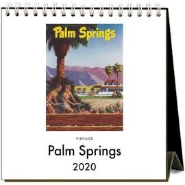 2020 Desk Calendar.2020 Palm Springs Desk Calendar