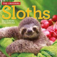 Sloths Mini Calendar 2020