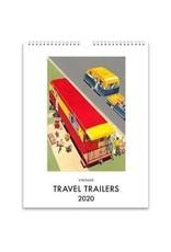 Found Image Press Travel Trailer Desk Calendar 2020